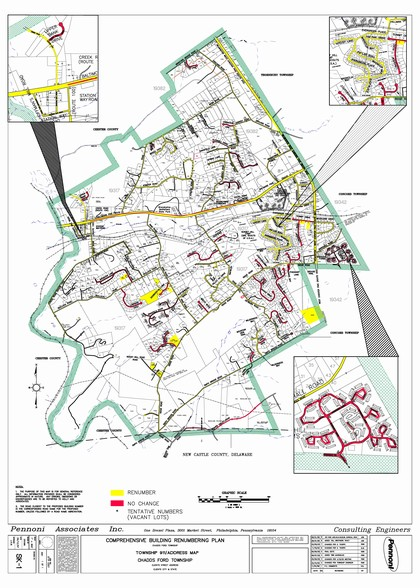 Township Maps - Chadds Ford Township
